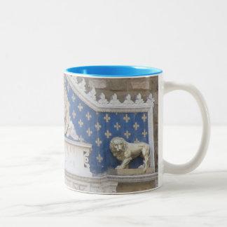 Coffee Mug--Uffizi Art Two-Tone Coffee Mug