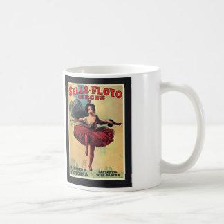 Coffee Mug - Vintage Circus Tightrope Walker