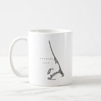 Coffee Mug Vintage Duxbury MA Map