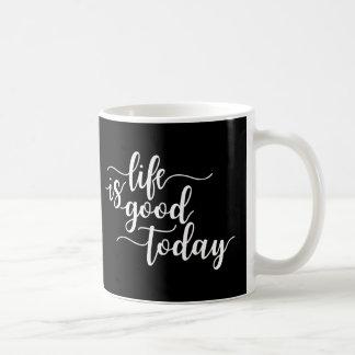 Coffee Mug With A Positive Message