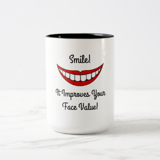 Coffee Mug With a Smile