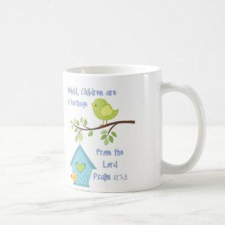 Coffee Mug with Bible Verse