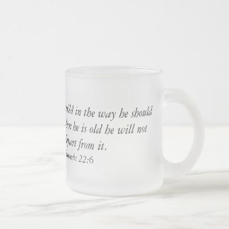 Coffee Mug with Bible Verse
