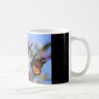 coffee mug with butterfly...contentment