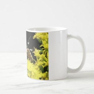 Coffee mug with honey bee & scripture.