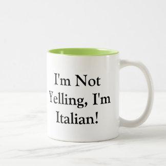 Coffee Mug with Italian Saying