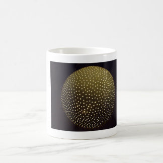 Coffee Mug with lighted sphere sculpture image