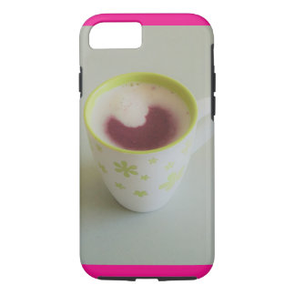 Coffee Mug with Milk/Smoothie Apple iPhone Case