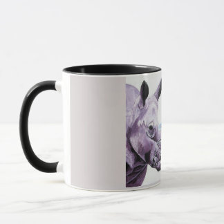 Coffee mug with unusual design