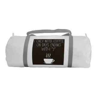 Coffee Needs Gym Bag