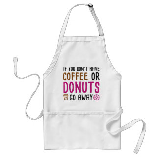 Coffee Or Donuts Standard Apron