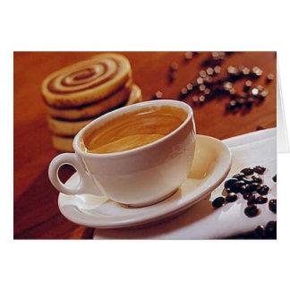 Coffee or Tea Time Card 1