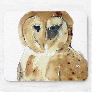 Coffee Owl Mouse Pad