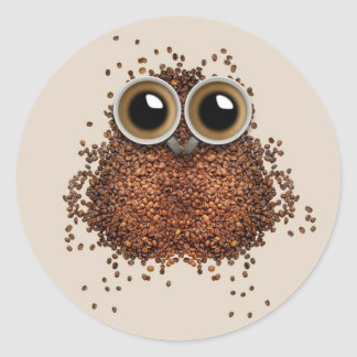 Coffee Owl stickers