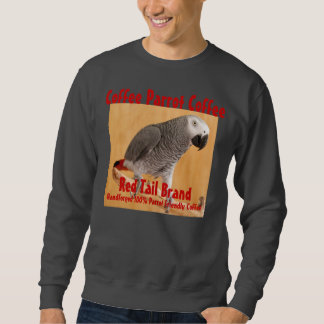 Coffee Parrot Coffee Red Tail Brand Sweatshirt