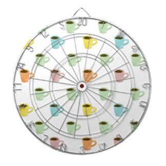 Coffee Pattern Dartboard