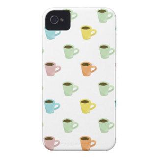 Coffee Pattern iPhone 4 Case-Mate Case