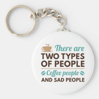 Coffee People Key Ring