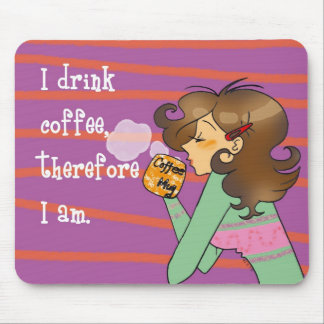 Coffee philosophy mouse pads