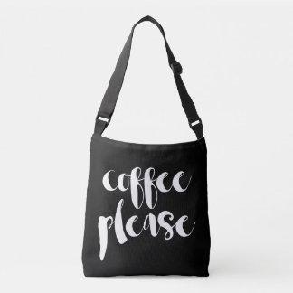 Coffee Please Crossbody Bag