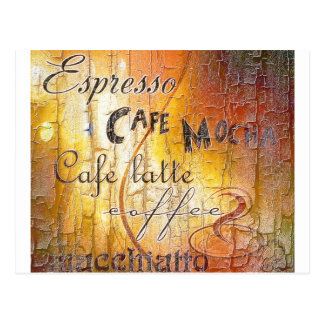 COFFEE! POSTCARD