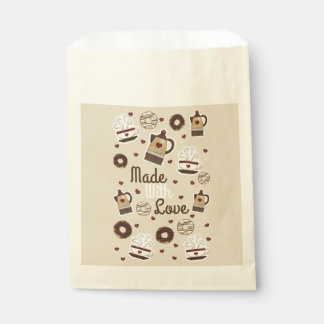Coffee Pot and Cup Favour Bag