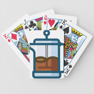 Coffee Pot Bicycle Playing Cards