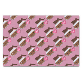 Coffee Pot Love (pink background) Tissue Paper
