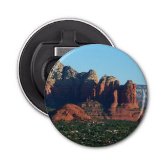 Coffee Pot Rock I in Sedona Arizona Bottle Opener