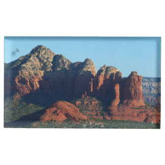 Coffee Pot Rock I in Sedona Arizona Place Card Holder