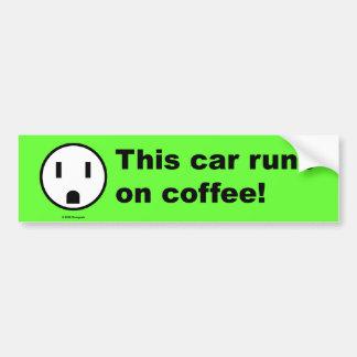 Coffee Power - Bumper Sticker