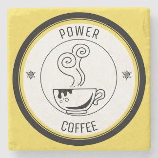 Coffee Power Stone Coaster