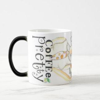Coffee Pretty Blond Lola Magic Mug