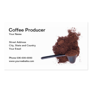 Coffee Producer Business Card