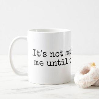 Coffee PSA Mug