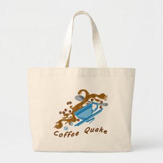 Coffee Quake Tote Bag
