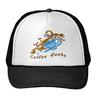 Coffee Quake Trucker Hat