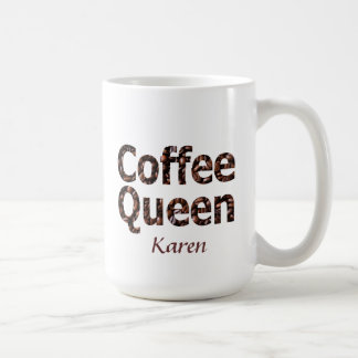 Coffee Queen Personalized Mug