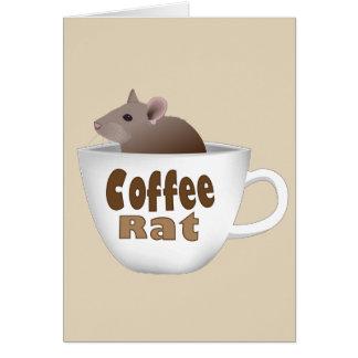 Coffee Rat Card