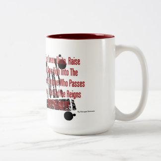 Coffee Revolution Two-Tone Mug