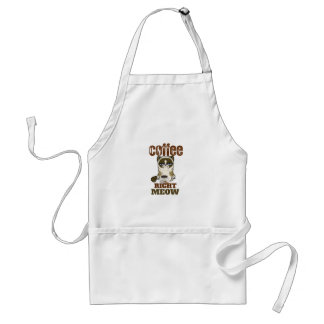 Coffee Right Meow Standard Apron