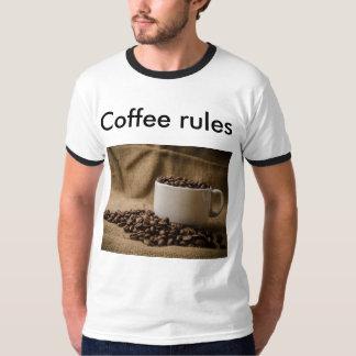 Coffee rules T-shirt