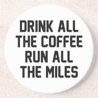 Coffee & Run Coaster