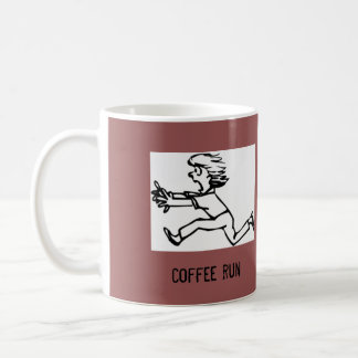 coffee run coffee mug