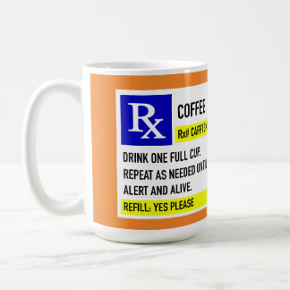Coffee Rx Mug (15oz. white)