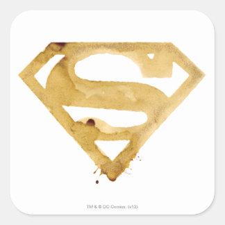 Coffee S Symbol Square Sticker