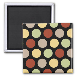 Coffee Shop Dots Magnet