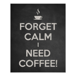 Coffee Sign. Coffee Decor. Kitchen Wall Art Poster