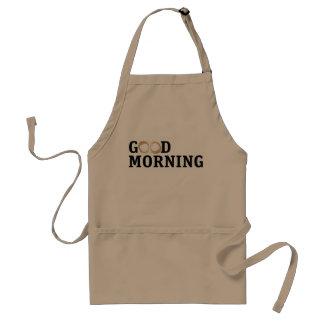 Coffee Smudge Good Morning Standard Apron