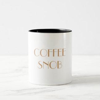 COFFEE SNOB Mub Two-Tone Coffee Mug